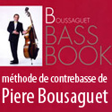 Boussaguet Bass Book - Méthode jazz de contrebasse