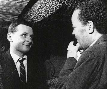 Stan Getz et Lester Young