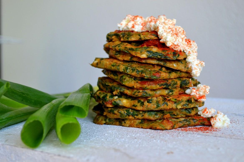 spinaziepannenkoekjes