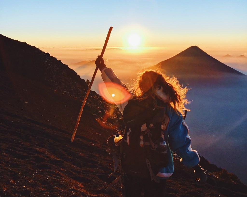 hike vulkaan acatenango