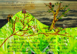 When the countryman observed in silence, he also saw that all that was alive had Arutam inside: the forest's spirit was moving inside all beings. Arutam was inside the fast beat of the birds' heart, the flowing of the plants blood, the flexibility of the fish bones, the heat or coldness of the stones.