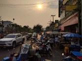 Chiang Mai at dusk.