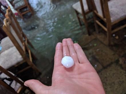 When it rains in Skopje, it rains snowballs like Raffaellos.