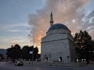 Bitola at dusk, Muslim version.