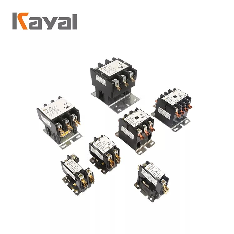 Free Sample High Quality 30 Amp 2 Pole Contactor Definite