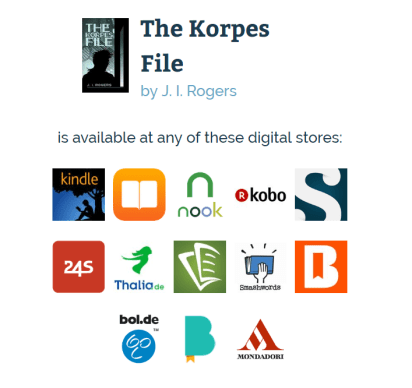 The Korpes File Universal Book Links Help You Find Books at Your Favorite Store