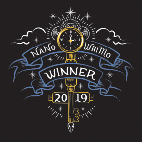 NaNoWriMo Winner Design.