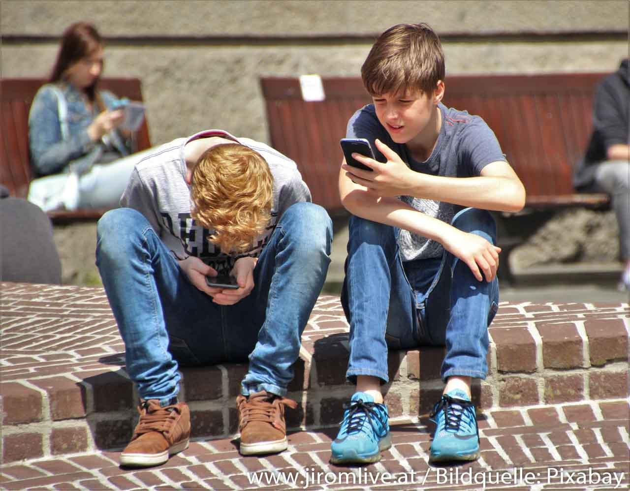 Handy-Nacken vorbeugen (oder eben nicht)