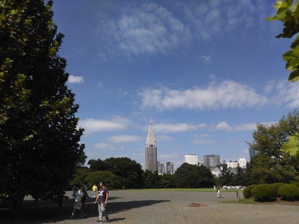 新宿御苑景色