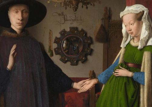 The many questions surrounding Jan Van Eyck's Arnolfini Portrait