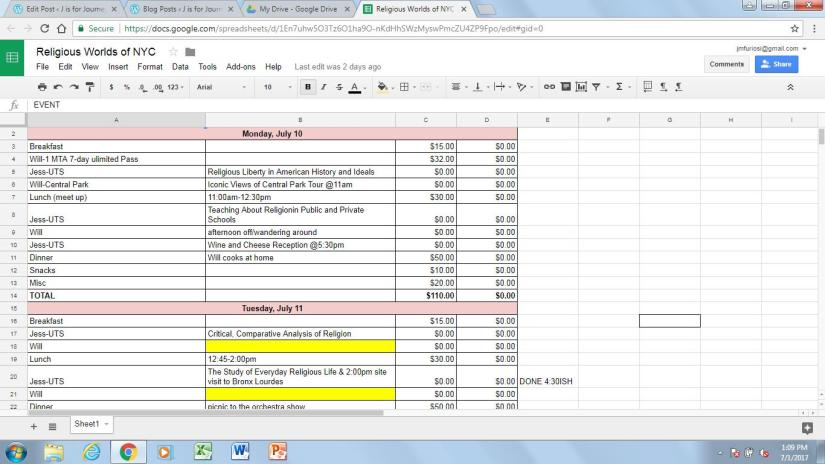 budget pt 2