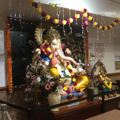 Puja at the Hindu Temple Society of North America