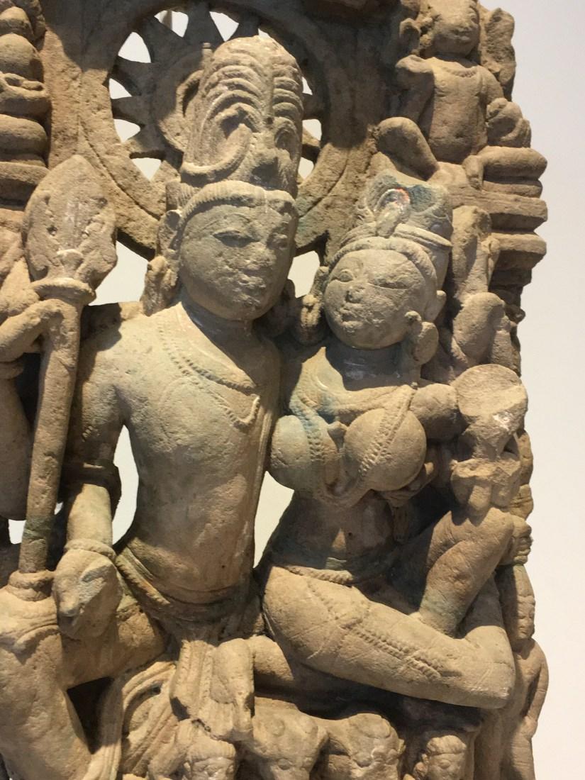 HM UF Uma-Mahesvara, 10th century, India