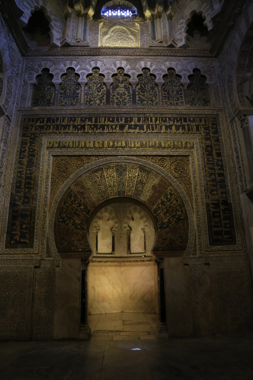 Mezquita-mihrab