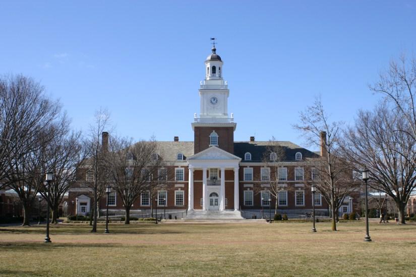 Johns Hopkins campus