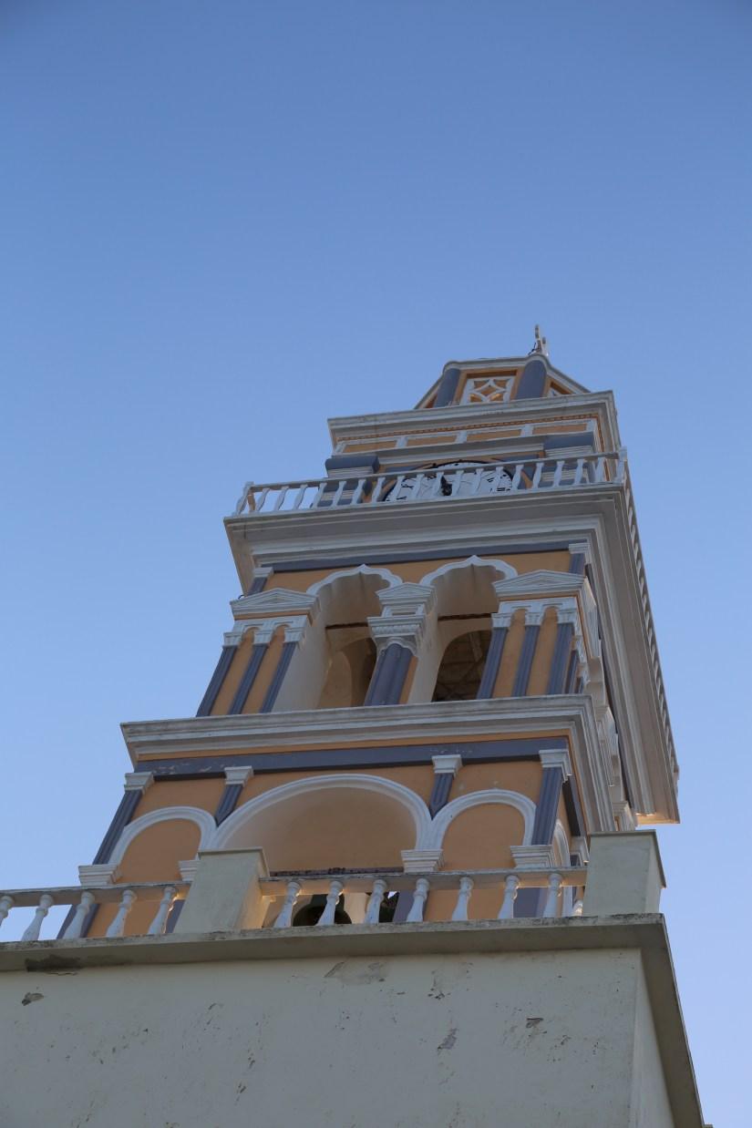 Santorini belltower