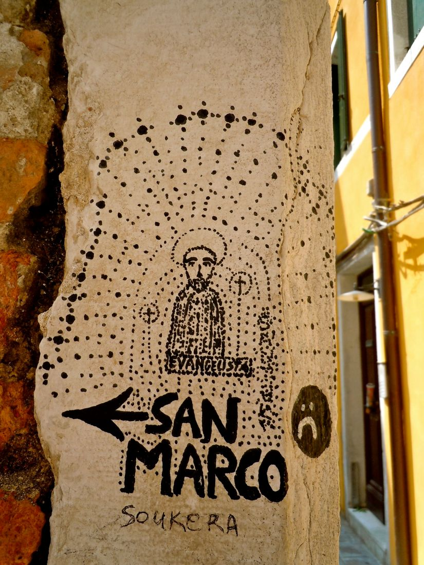 Venice San Marco sign