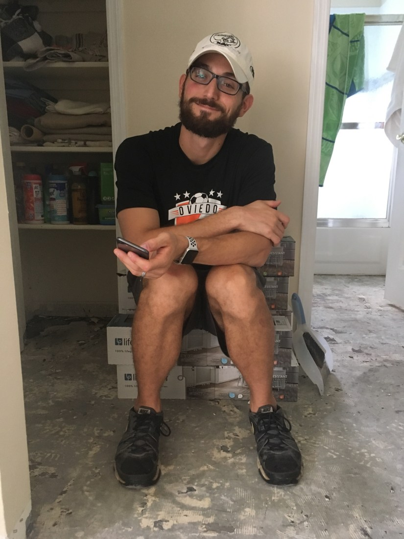 Will sitting on tile