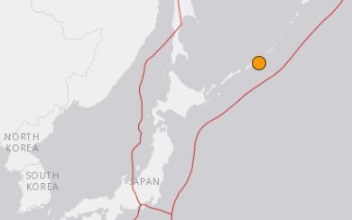 地震予知情報 千島列島M5.2