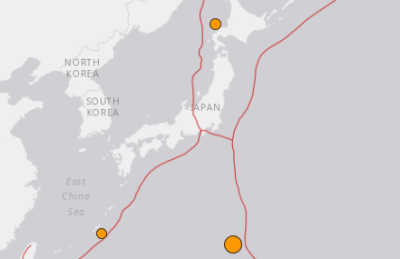 地震予知情報 硫黄島M6.3 国内注意のこり4日間。