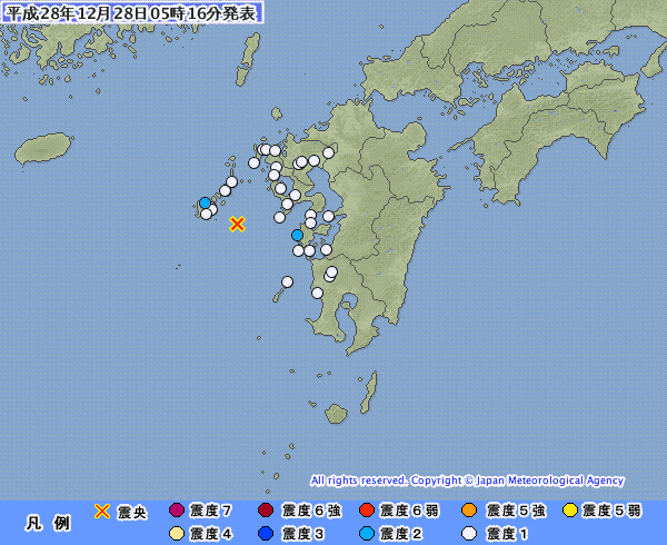 地震予知情報 国内シグナル再発継続中