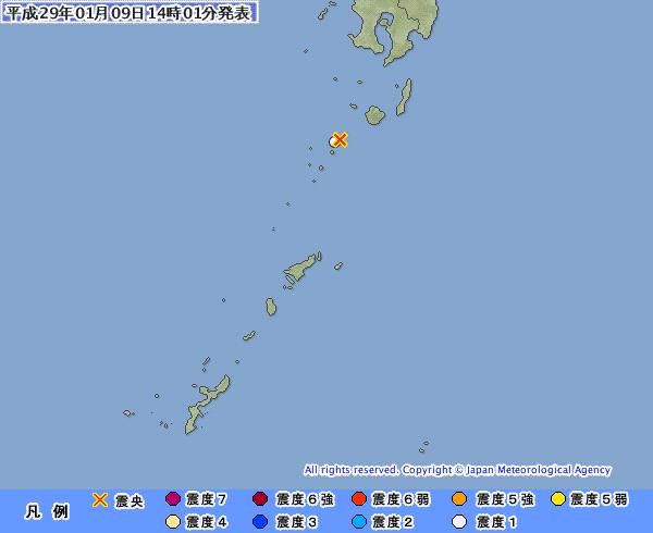 地震予知情報 国内M6~M7警戒 のこり4日間