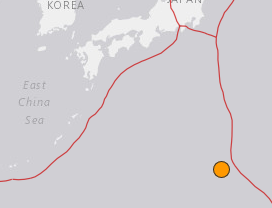 地震予知 硫黄島M5.9 これで国内M6警戒は終了