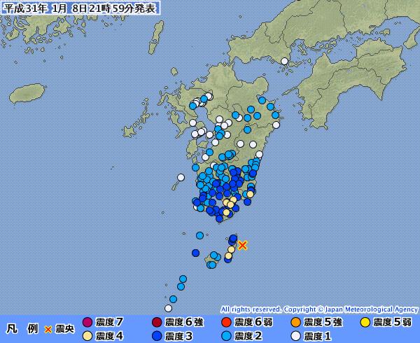 地震予知 国内M5気配 国内シグナル静寂傾向