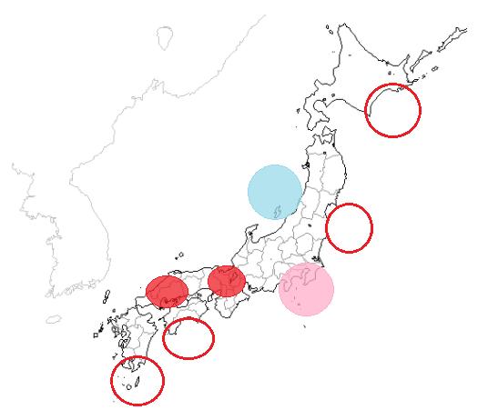 地震予知 国内M5~M6注意 関東も静寂傾向