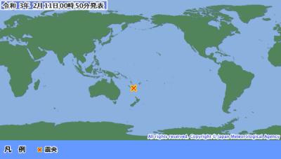地震予知 国内M5注意 残り1日