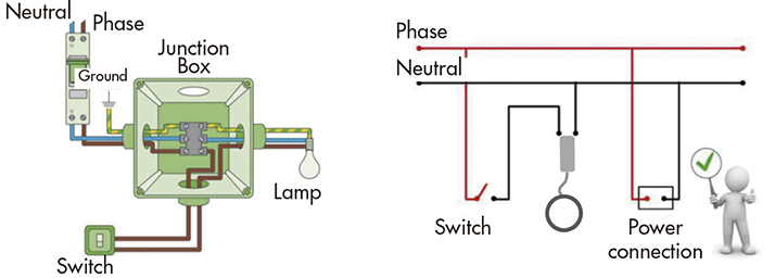 2 Pole Wiring Diagram General Issues Led Lighting