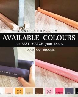 DOOR GAP BLOCKER | Buy 3 sets Free Delivery |