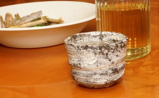マテ貝の酒蒸し
