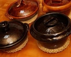 中川一辺陶の陶器の土鍋