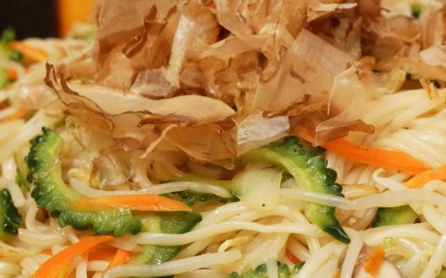 普通の素麺に食べ飽きたらソーメンチャンプルー