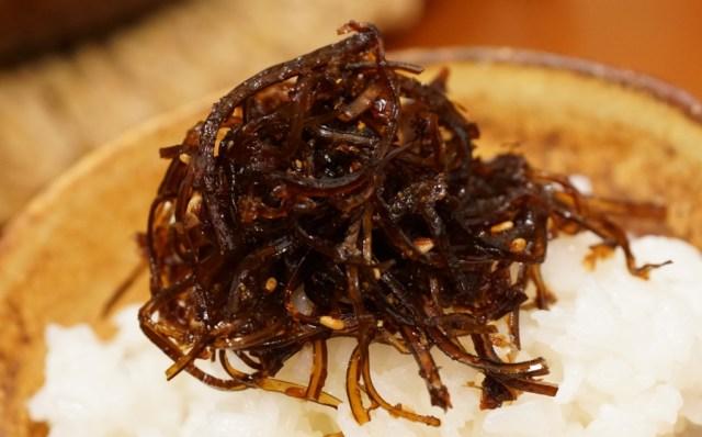 無添加の自家製昆布の佃煮