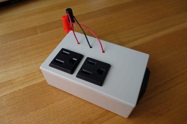 ラズベリーでAC電源を制御