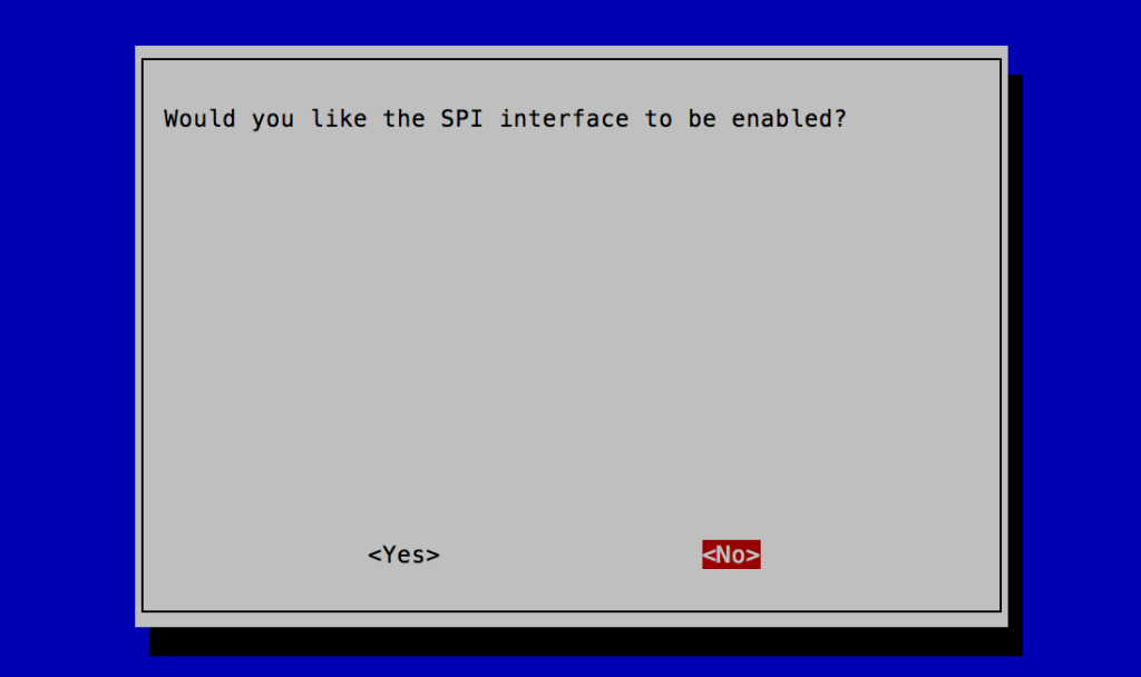 rasp-confgでSPIを設定する