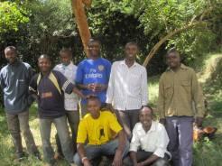 Vocational Class 9 boys — at Machakos Town.