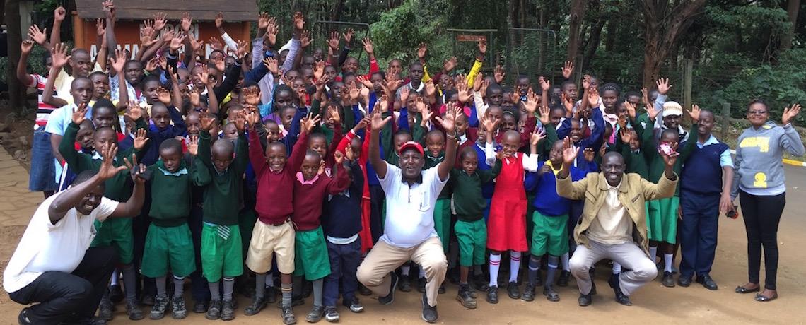 Jitegemee has arrived at Nairobi's Animal Orphanage!
