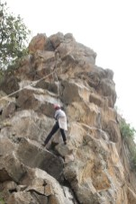 Some of us were brave enough to climb the rocks!