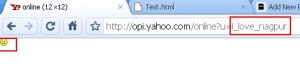Find Yahoo Mesenger status of email id