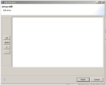 Edit Array Eclipse ORMB / CC&B / Oracle Utilities