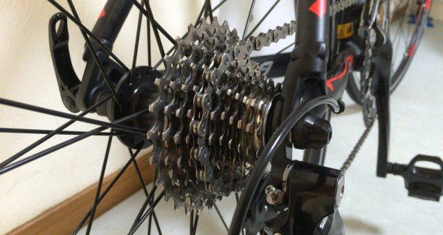 自転車のギアが変わらない時の、変速機系統のメンテナンス方法