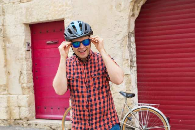 サングラス 自転車