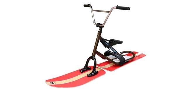 まさに雪上自転車!!ゲレンデで注目のスノーモトについて