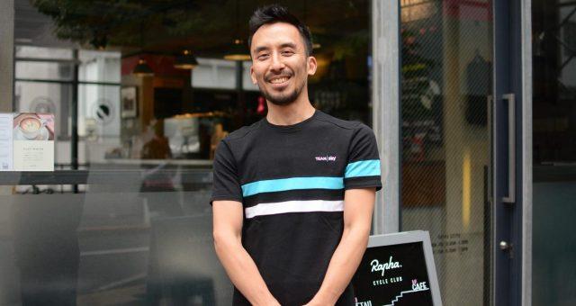 Rapha Cycle Club Tokyoでライド仲間と楽しむ。ストアマネージャーの内田さんにお話を聞いてきた