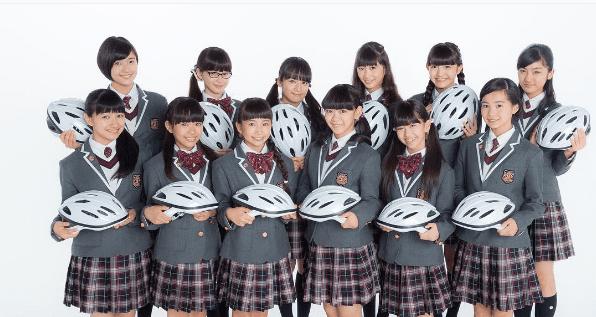 ヘルメットをかぶったときの安心感ーさくら学院が自転車の交通安全を学ぶ