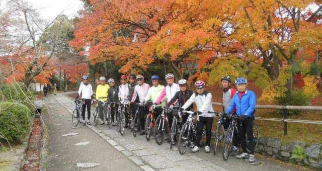 紅葉の時期に穴場巡りルートで京都ライド