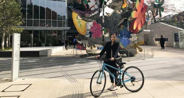 【溜池山王・四谷・神楽坂】クロスバイクで都内のおしゃれスポット巡り